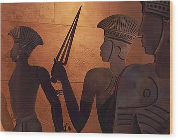 Ashkelon, Israel-philistine Exhibit Wood Print by Keenpress