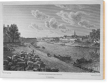 Austria: Vienna, 1821 Wood Print by Granger