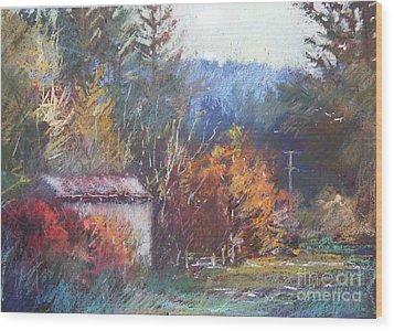 Autumn Glory Wood Print by Pamela Pretty