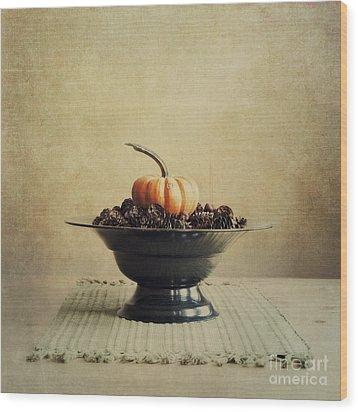 Autumn Wood Print by Priska Wettstein