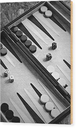 Backgammon Wood Print by Joana Kruse