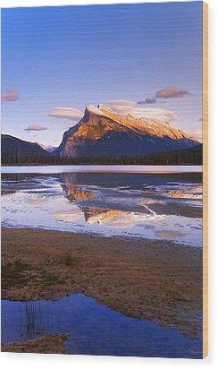 Banff National Park, Alberta, Canada Wood Print by Carson Ganci