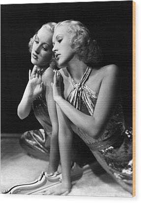 Betty Grable, 1930s Wood Print by Everett