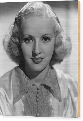 Betty Grable, 1937 Wood Print by Everett