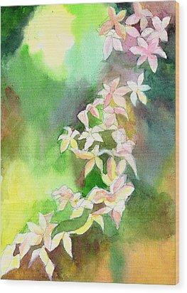 Blessings 1 Wood Print by Anil Nene
