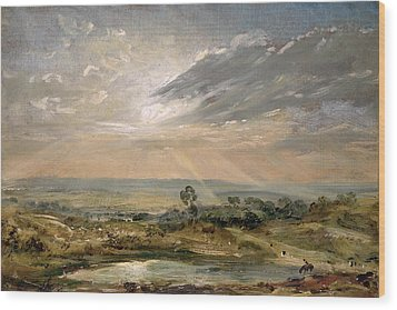 Branch Hill Pond Hampstead Wood Print by John Constable