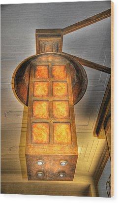 Burning Wood Print by Barry R Jones Jr