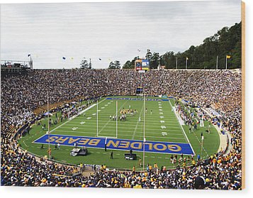 Cal  Memorial Stadium Wood Print by Icon Sports Media