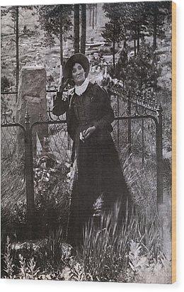Calamity Jane Martha Jane Burke Wood Print by Everett