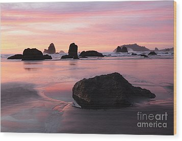 California Coast 3 Wood Print by Bob Christopher