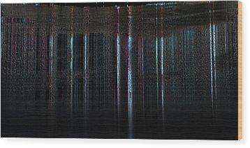 Calm Tense 02 Wood Print by Li   van Saathoff