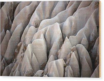 Cappadocia Rocks Wood Print by RicardMN Photography