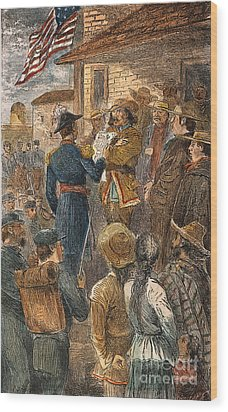 Capture Of Santa Fe, 1846 Wood Print by Granger