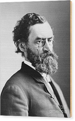 Carl Schurz (1829-1906) Wood Print by Granger