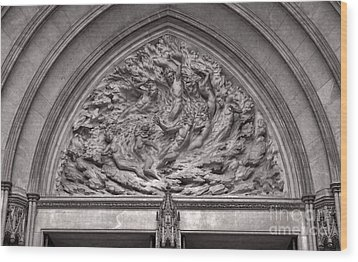 Cathedral Ex Nihilo Wood Print by Susan Isakson