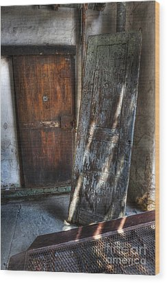 Cell Doors - Eastern State Penitentiary Wood Print by Lee Dos Santos