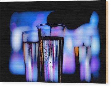 Champagne Wood Print by Hakon Soreide