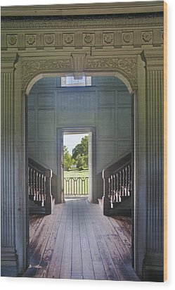 Charleston Drayton Hall 18th Century Wood Print by Rob Tilley