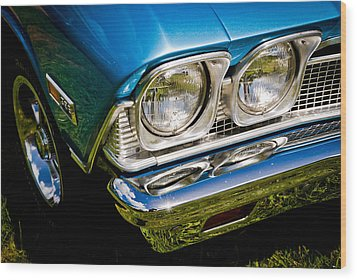 Chevelle Lights Wood Print by Phil 'motography' Clark