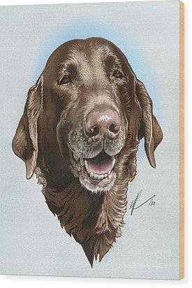 Chubbs Wood Print by Marshall Robinson