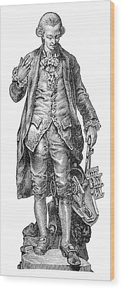 Claude De Jouffroy, French Engineer Wood Print by