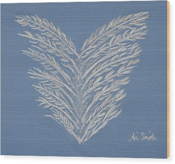 Clean Heart Wood Print by Ani Todd Smith