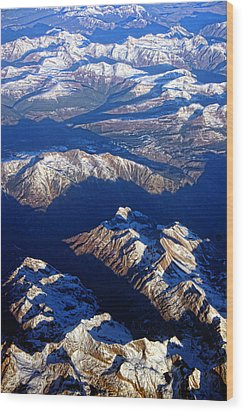 Colorado Rocky Mountains Planet Earth Wood Print by James BO  Insogna