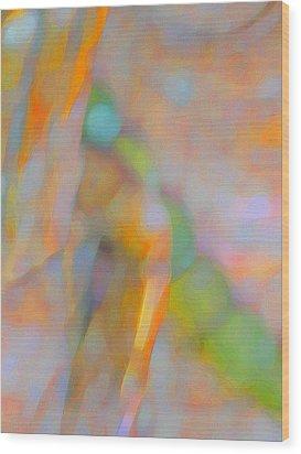 Wood Print featuring the digital art Comfort by Richard Laeton