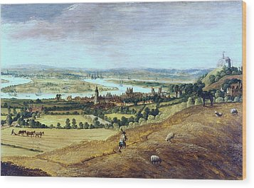 Countryside In London, England, 17th Century Wood Print by Photos.com