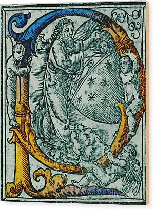 Creation Giunta Pontificale 1520 Wood Print by Science Source