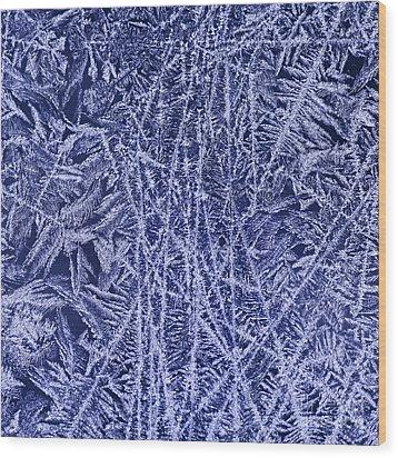 Crystal 2 Wood Print by Sabine Jacobs