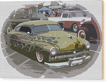 Custom Merc Wood Print by Steve McKinzie