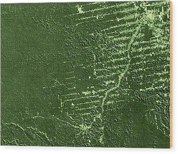 Deforestation In Rondonia, Brazil, 1992 Wood Print by Nasa