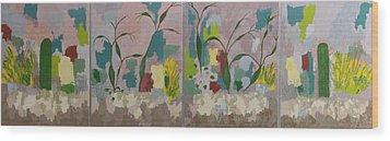 Desert Pastoral Wood Print by Frederick Fulmer