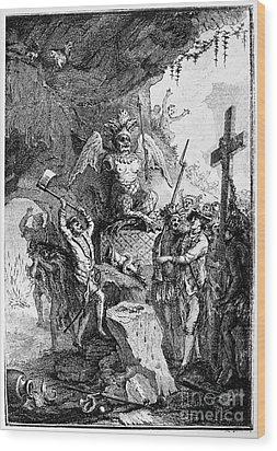 Destruction Of Idols, C1750 Wood Print by Granger