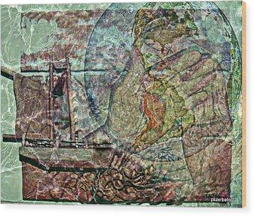 Discovery Of America Wood Print by Paulo Zerbato