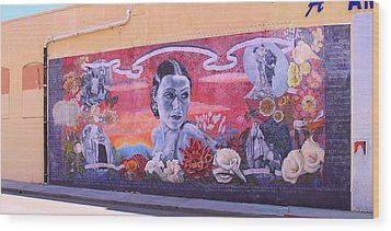 Dolores Del Rio Wood Print by Viktor Savchenko