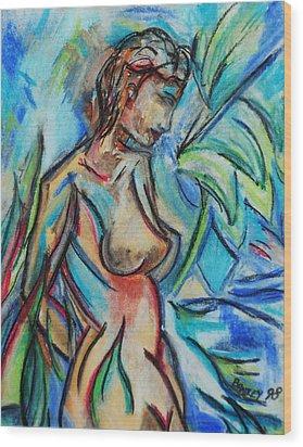 Dream Girl 98 Wood Print by Bradley Bishko