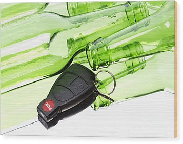 Drunk Driving Wood Print by Blink Images