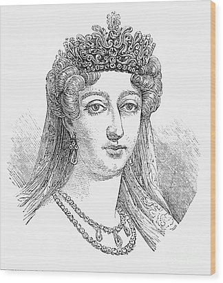 Duchess Of AngoulÊme Wood Print by Granger