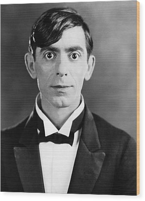 Eddie Cantor, 1927 Wood Print by Everett