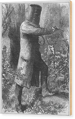 Edward (ned) Kelly Wood Print by Granger