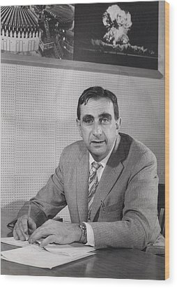 Edward Teller 1908-2003, In 1958 Wood Print by Everett
