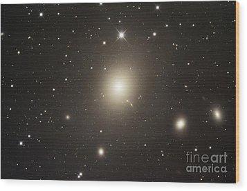 Elliptical Galaxy Messier 87 Wood Print by Robert Gendler