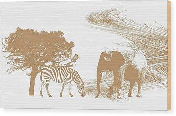 Endangered Wood Print by Sharon Lisa Clarke
