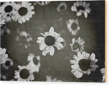 Even In Darker Days Wood Print by Laurie Search