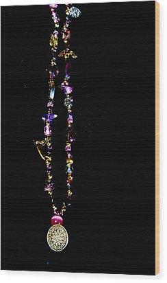 Faith Healing Bracelet Wood Print by Joshua Dwyer
