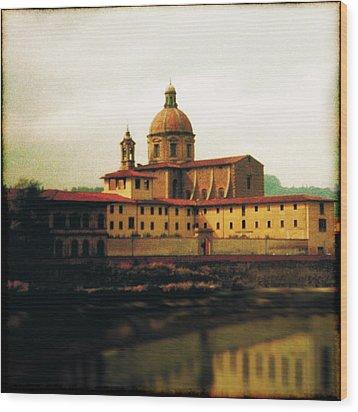 Firenze A Piedi Wood Print by Li   van Saathoff