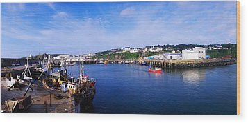 Fishing Harbour, Dunmore East, Ireland Wood Print by The Irish Image Collection