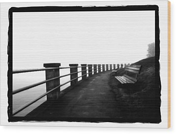 Foggy Day H-6 Wood Print by Mauro Celotti